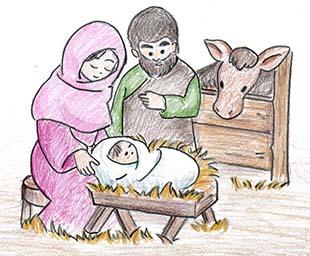 クリスマス集会のイメージ